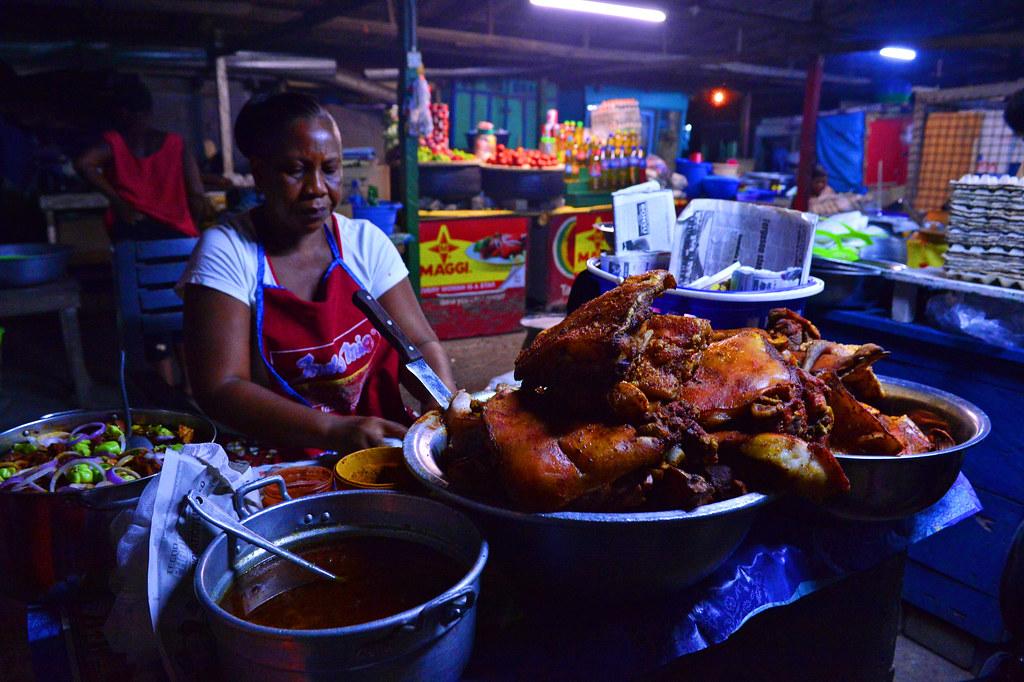 Osu Night market